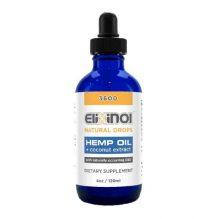 Elixinol CBD Drops 3600mg Natural Flavor