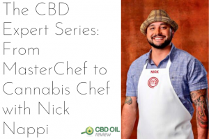 header image for cbd expert series interview with chef Nick Nappi