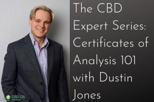 cbd expert series interview with dustin jones