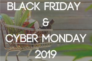 Black Friday & Cyber Monday 2019: CBD Deals & Coupon Codes