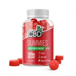CBDfx CBD Gummies with Apple Cider Vinegar Image