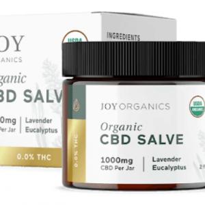 Joy Organics USDA Organic CBD Salve Image