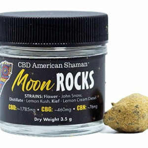 CBD American Shaman Moon Rocks Image